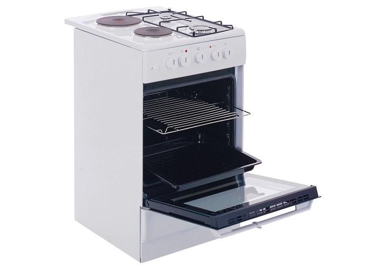 Комбинированная газовая плита с электродуховкой