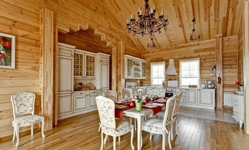 Оформление кухни в русском стиле: создание интерьера с национальным колоритом
