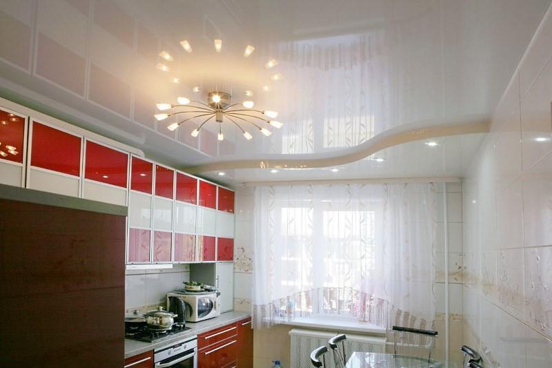 Потолок кухни в панельном доме
