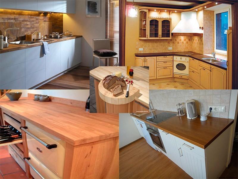 Выбираем деревянную столешницу для кухни: дизайн, плюсы и минусы, особенности ухода.
