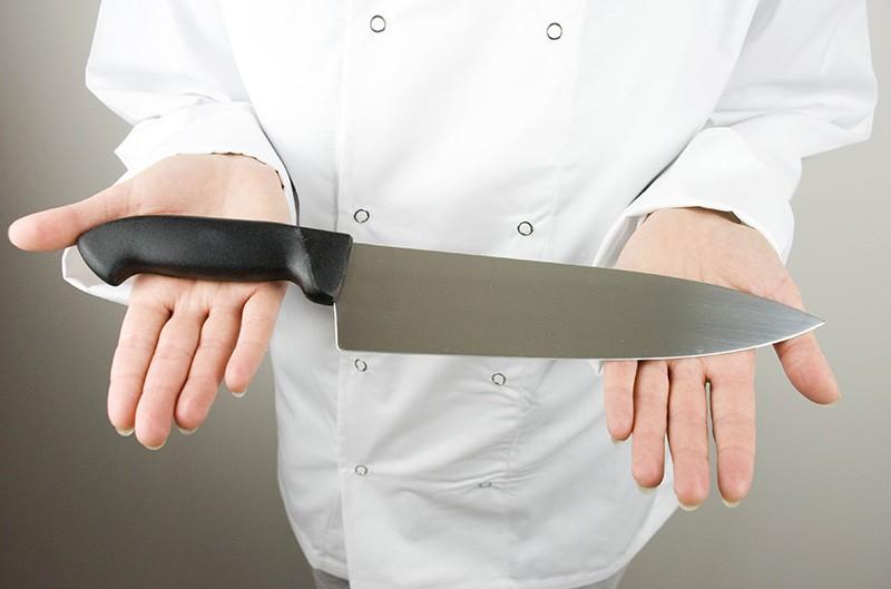 Баланс кухонного ножа