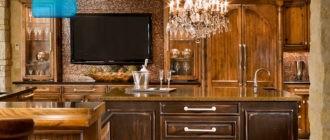 Телевизор-на-кухне