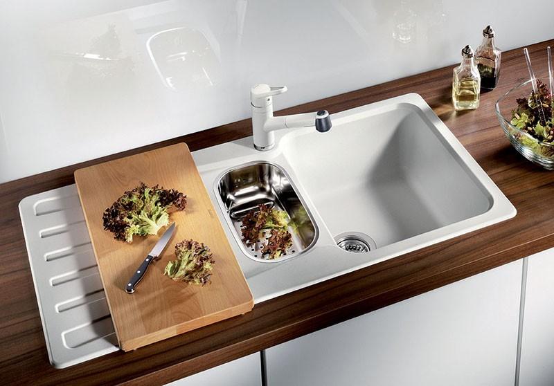 Какой должен быть размер раковины на кухне?