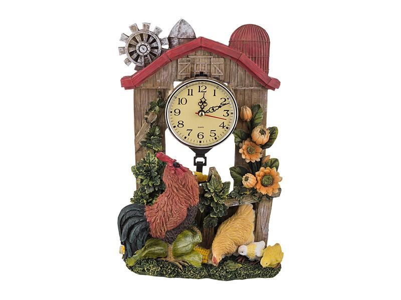 Часы в стиле кантри на кухню