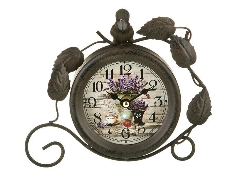 Часы в стиле прованс на кухню