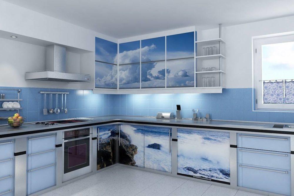 Три правила синей кухни