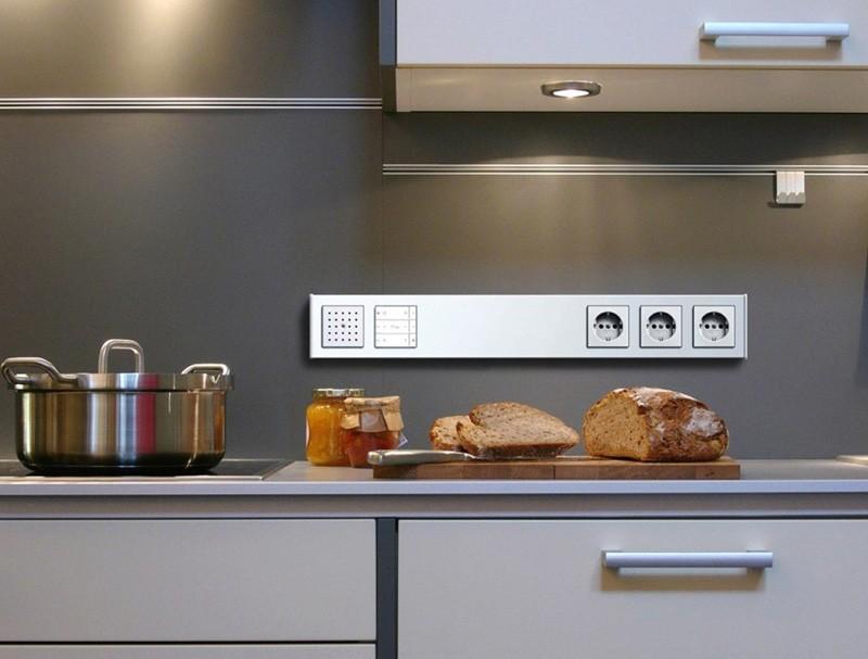 Расположение розеток на кухне