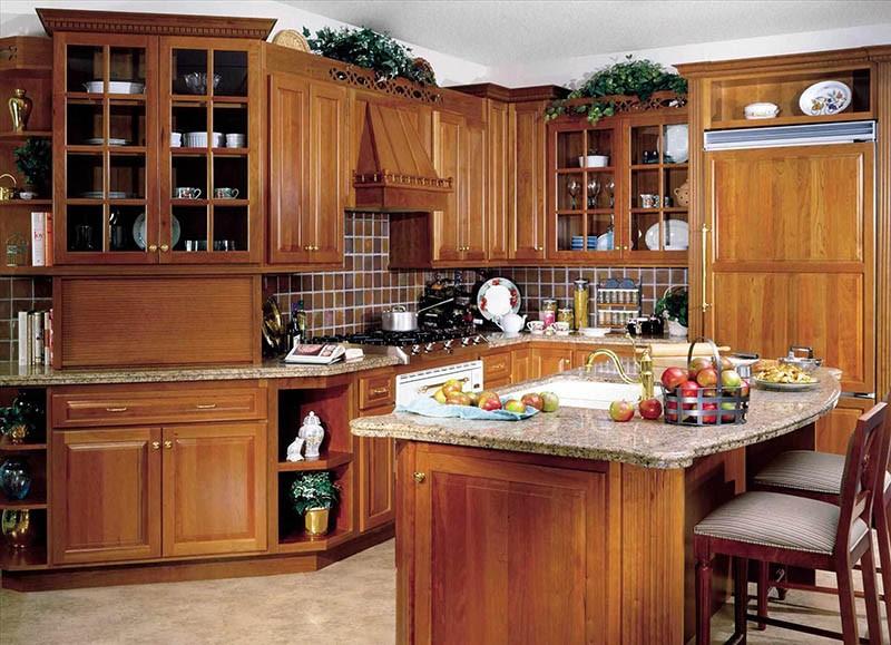 Мебель на кухне в классическом стиле