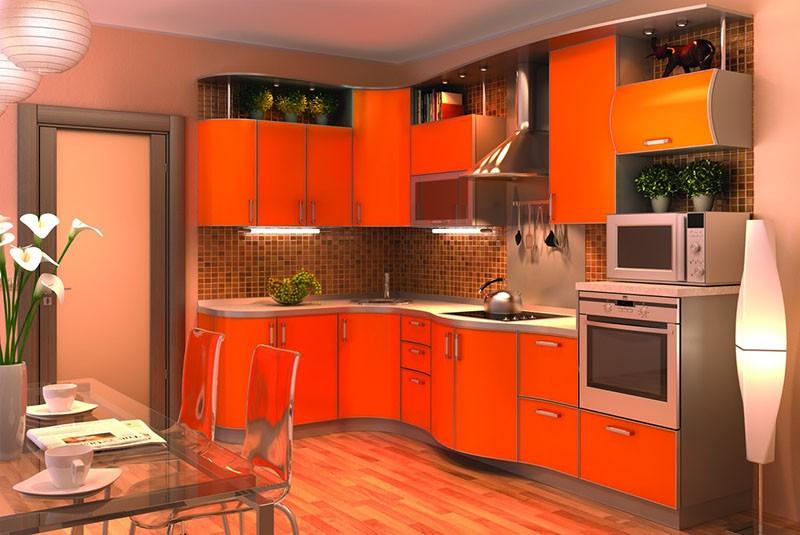 Мозаика коричневых тонов на кухонном фартуке