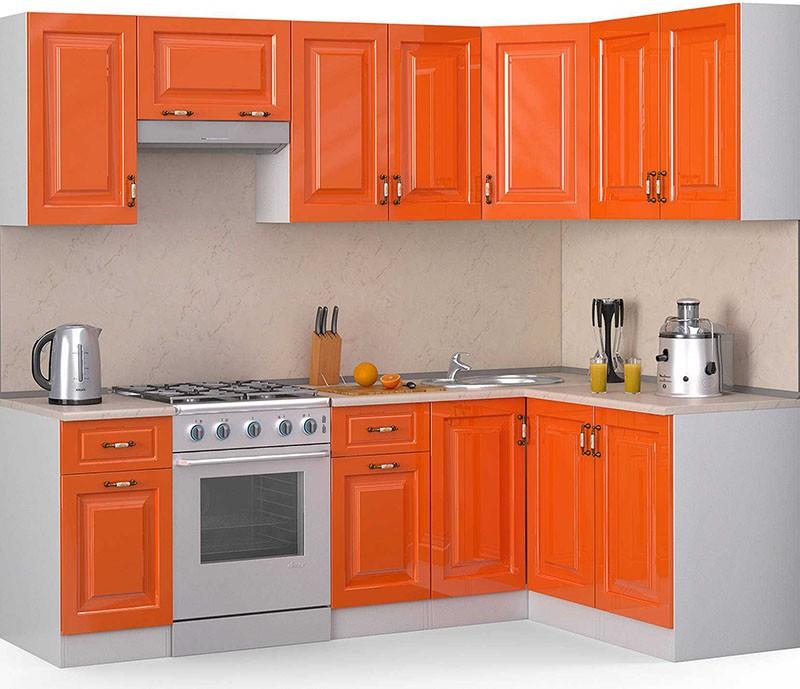 Филенчатые фасады классической кухни