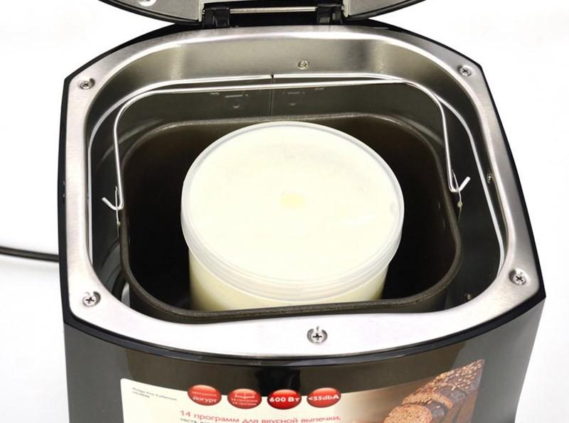 Ёмкость для приготовления йогурта в хлебопечке