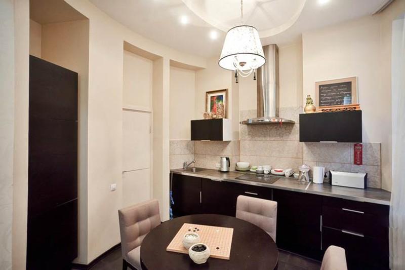 Кухня с нишей в стене: дизайнерские решения, примеры, много фото