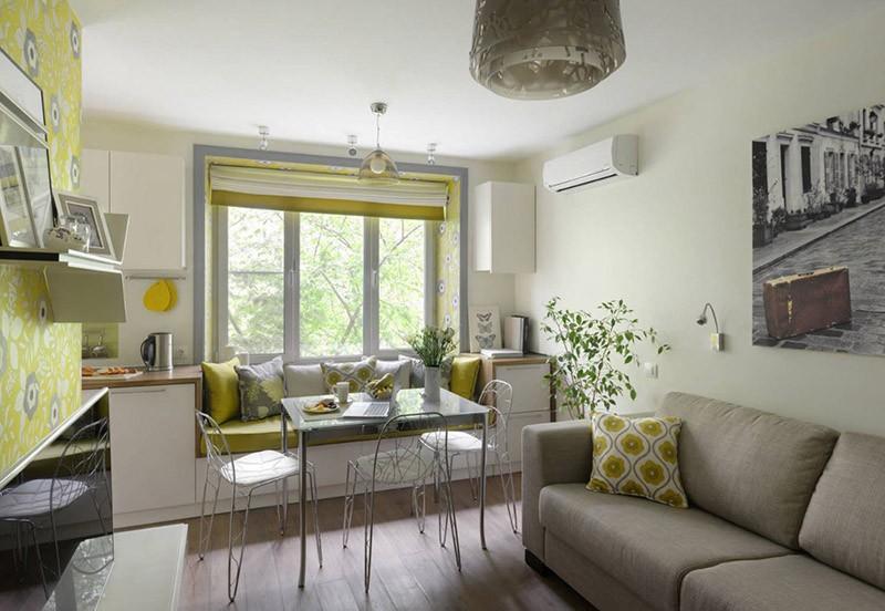Два дивана на одной кухне