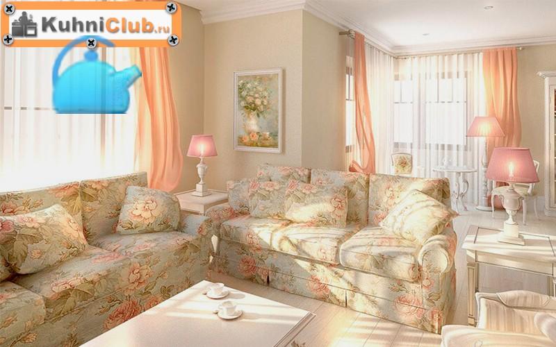 Выбираем идеальный диван для кухни в стиле прованс