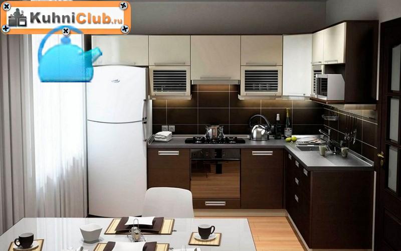 Кухни-из-беленого-дерева-стиль-хай-тек