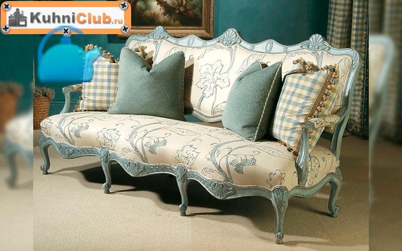 Кованый диван в стиле прованс