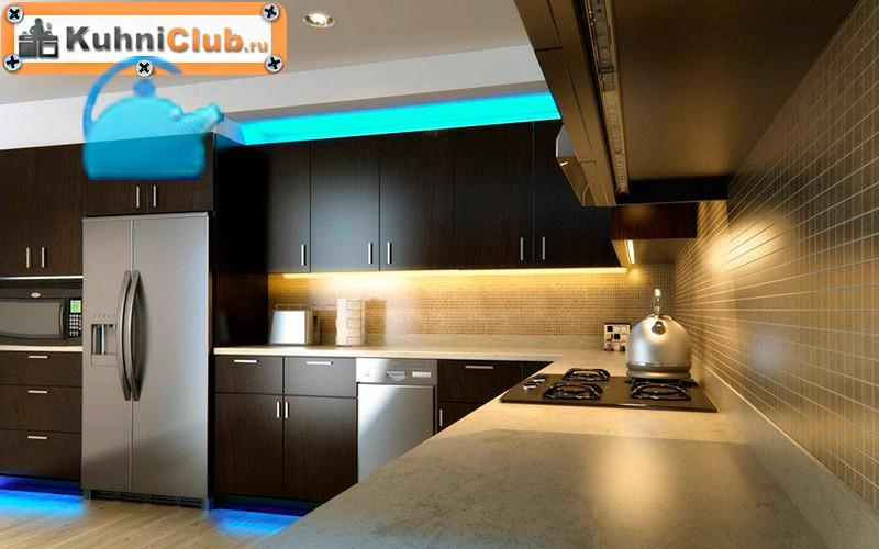 Комбинированная-подсветка-светодиодными-лентами