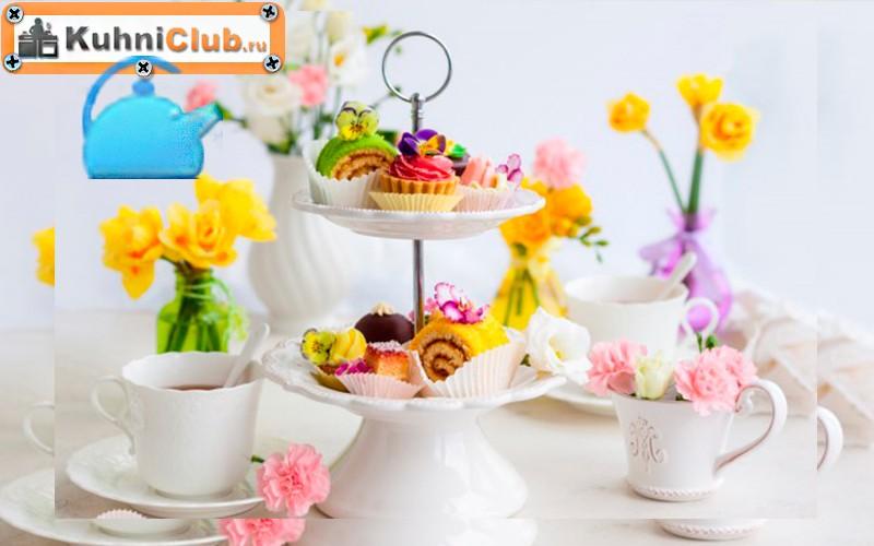 Декор-стола-желтыми-цветами