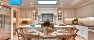 Люстры-для-кухни-с-низким-потолком