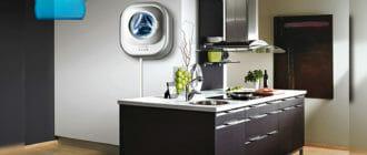 Настенная-стиральная-машина-на-кухне
