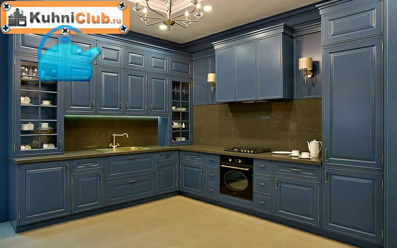 Цвет-и-стиль-трехуровневой-кухни