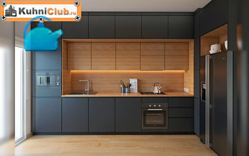 Трехуровневая-кухня-в-стиле-минимализм
