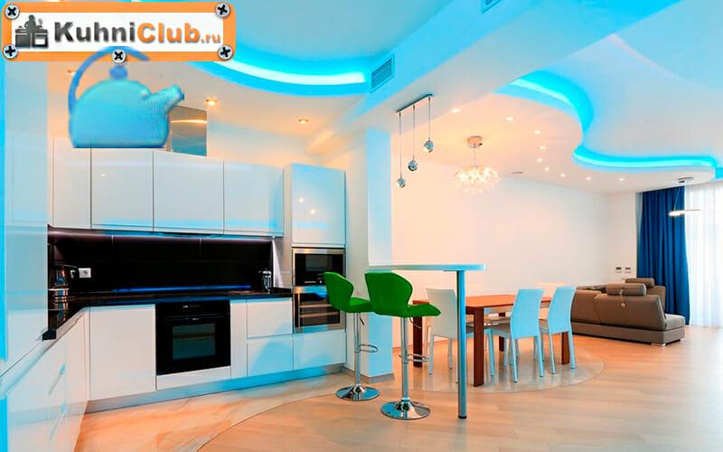 Двухуровневый-потолок-со-светодиодной-подсветкой