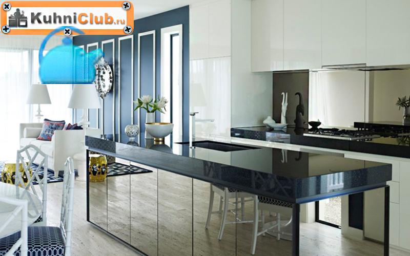 Зеркальный-остров-на-кухне