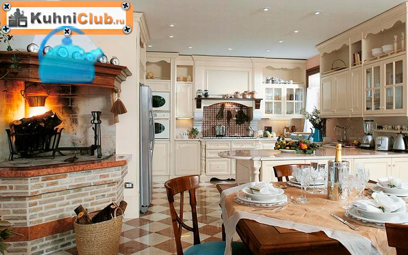 Угловой-дровяной-камин-в-кухне-гостиной