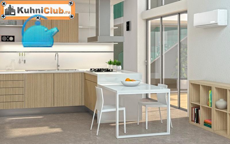 Установка-кондиционера-на-кухне